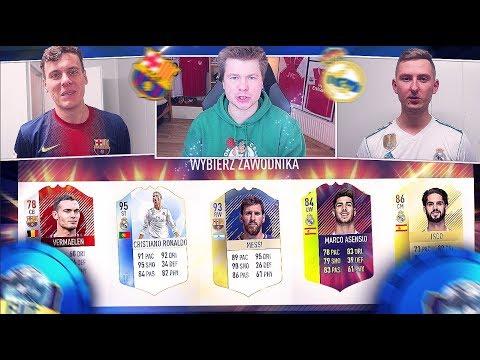 🔥LACHU i DISSBLASTER WYBIERAJĄ DRAFT EL CLASICO!!!🇪🇸 FIFA 18