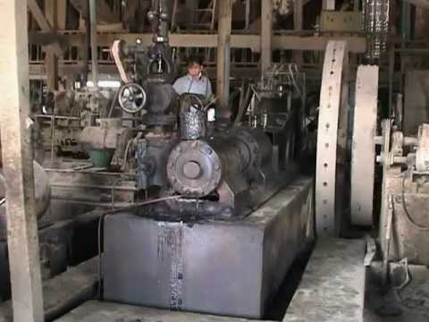 Stationary Steam Engines - Steam Powered Rice Mills in Thail