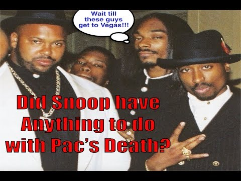 Did Snoop have anything to do with Tupac's murder?