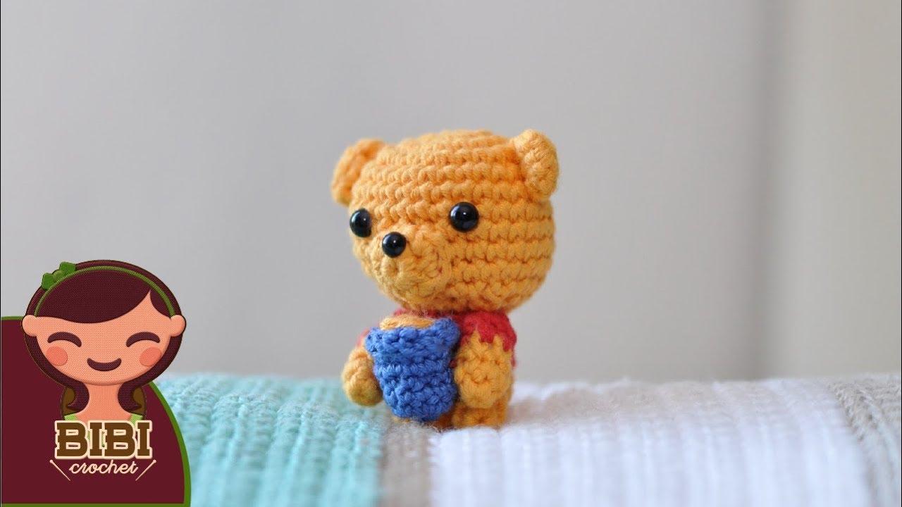 Amigurumi | Como hacer un Winnie the Pooh | Bibi Crochet - YouTube