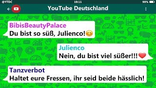 4 lustige WhatsApp Fails! (YouTuber Edition)