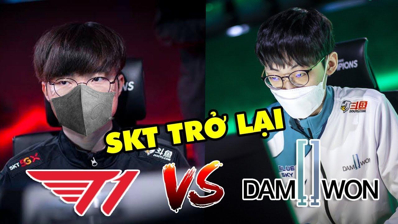 [LCK 2020] Faker gánh team SKT lội ngược dòng thần thánh trước DAMWON | Highlight SKT vs DWG Full