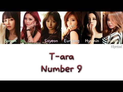 T-ARA (티아라) - NUMBER NINE (넘버나인)  [Han/Rom/Eng] Color Coded Lyrics