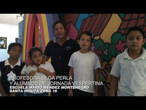 Escuelas de zona 16 visitan el Museo del Niño