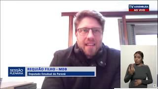 Requião Filho fala sobre manifestos em Curitiba contra o Racismo   Junho 2020