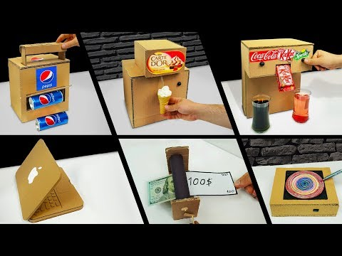 TOP 10 Amazing ideas from Cardboard at Home