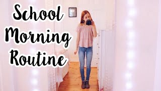 My Morning Routine for High School!