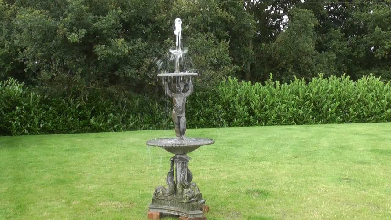 Beautiful Victorian Reclaimed Coalbrookdale Lead Antique Reclaimed Garden Water  Fountain   UKAA