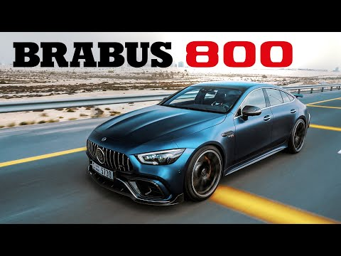 BRABUS 800 Based On GT 63 S: Style & Performance
