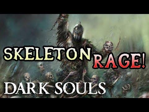 MOD CAUSES SKELETON ARMY! Dark Souls Hard Mod Rage! (#14)