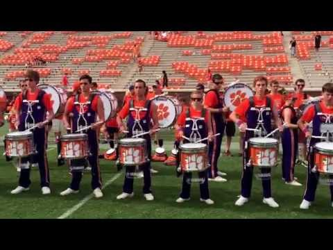 Clemson University Drumline (CUD) After Appalachian State 2015