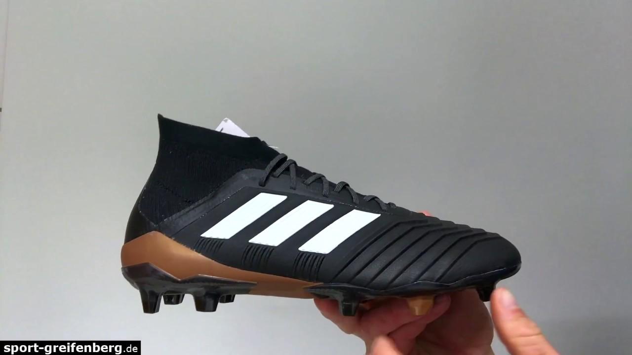 91a44d176f34 adidas Predator 18.1 FG Fußballschuhe - YouTube