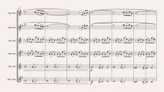 Libertango - Astor Piazolla - Tango Nuevo - Saxophone Trio Resimi