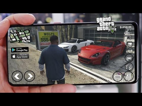 How to play gta 5 on android is real | Gloud games mod apk