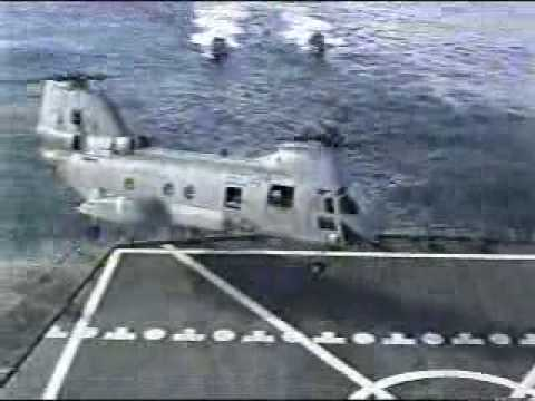 CH46 Helicopter crash