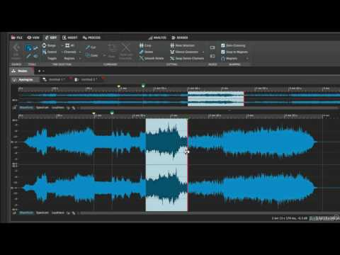 WaveLab 9 101: Absolute Beginner's Guide - 5. The Three Editing Modes