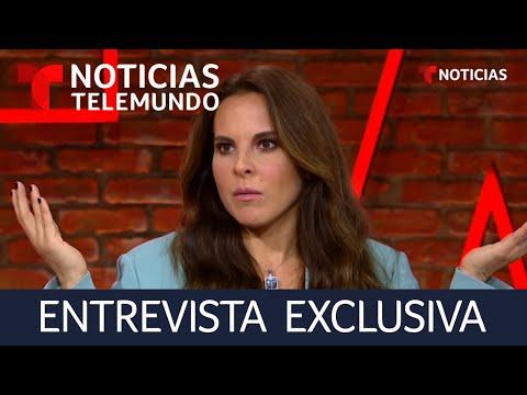 Kate del Castillo habla sin filtro sobre El Chapo y Sean Penn | Noticias Telemundo