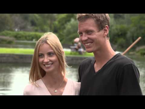 Love is in the air! Tomas Berdych proposes to model girlfriend Ester Satorova