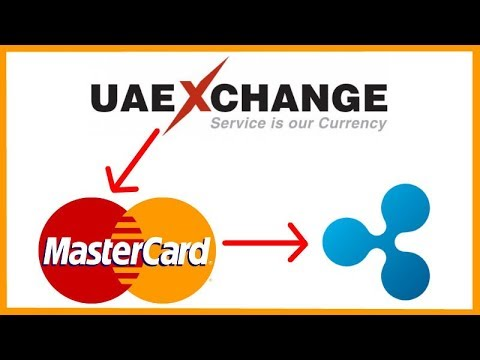 UAE Exchange Partners With Mastercard Which Gives Ripple A Connection To Mastercard