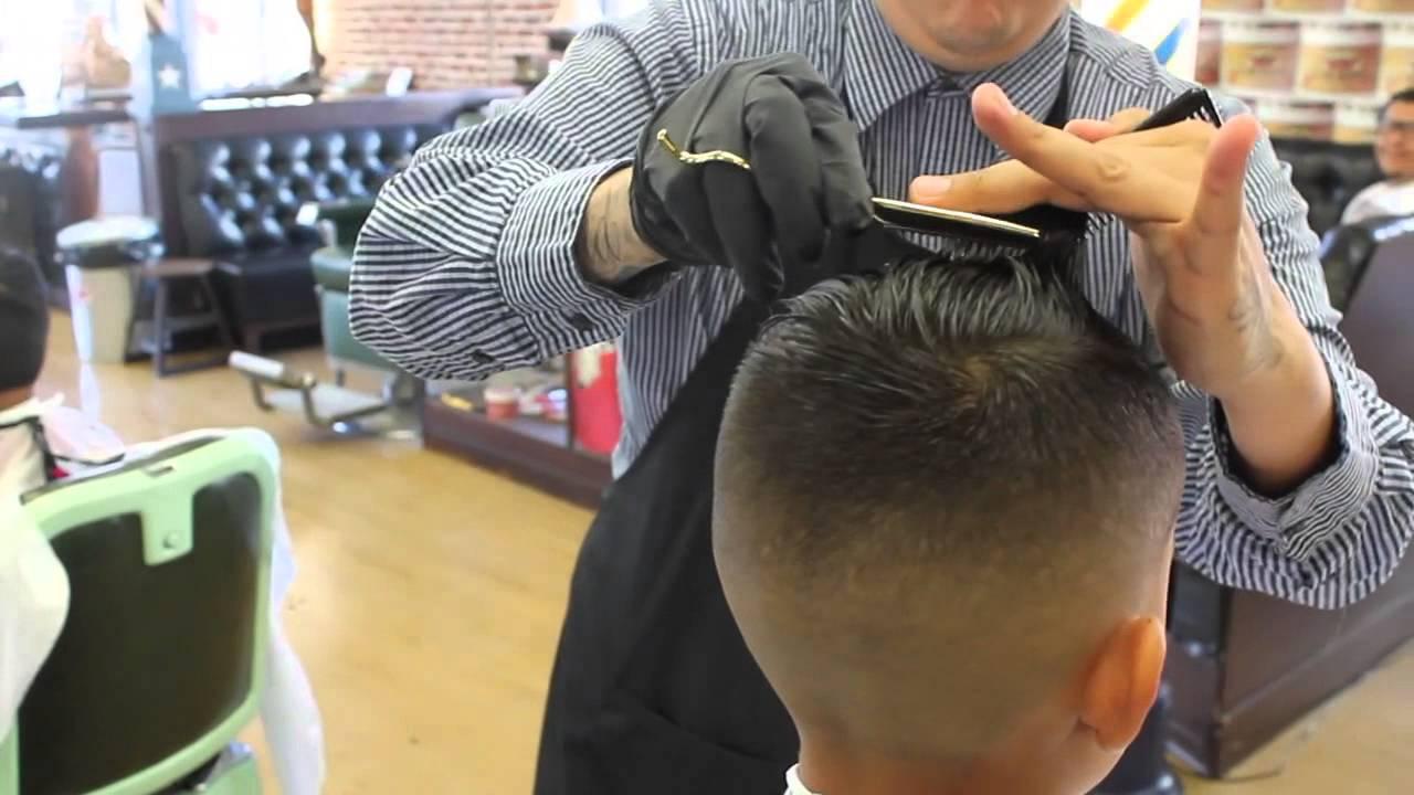Barber Shop Kids Haircut Youtube