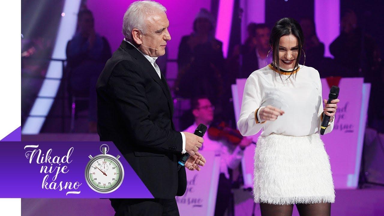 Slavko i Dragana - Ja imam nekog, a ti si sam - (live) - Nikad nije kasno - EM 15 - 30.12.2018