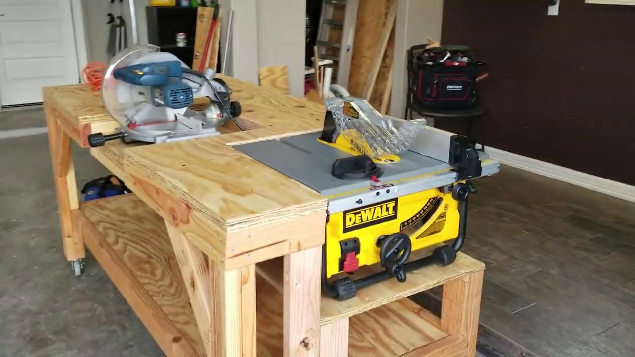 Diy Workbench Adjustment Dewalt Dw745s Add On