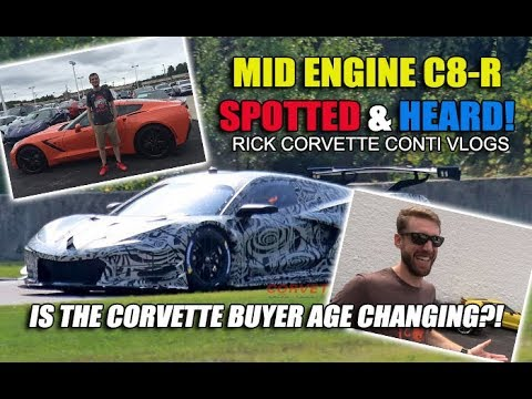 2020 C8 R MID ENGINE FIRST PICS & SOUNDS & is the CORVETTE BUYER AGE CHANGING?!