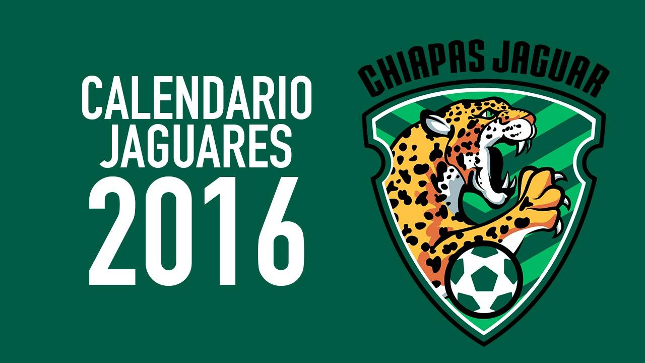 JAGUARES CHIAPAS CALENDARIO 2016 - YouTube