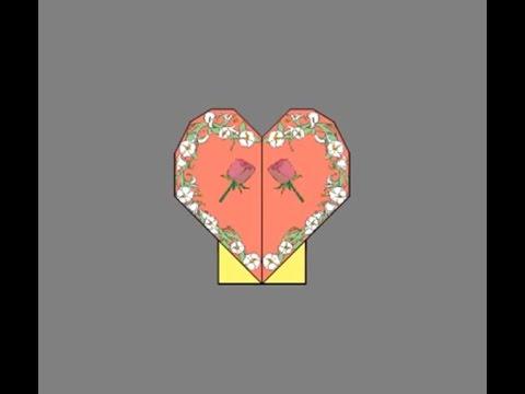 Сердце из бумаги своими руками / how to make a heart from paper