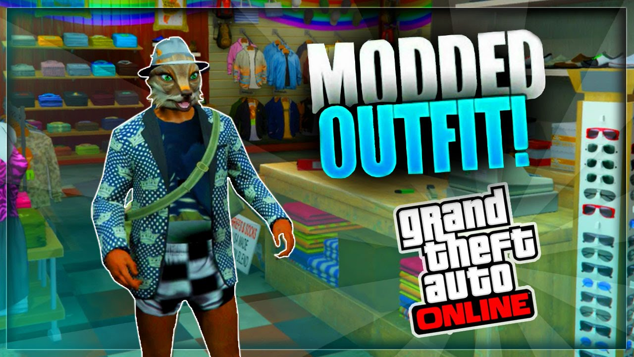 GTA 5 Online - How to Create a MODDED OUTFIT using Clothing Glitches *After Patch 1.33* #9 - YouTube