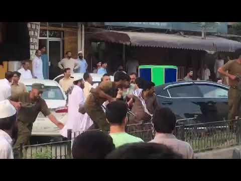 Thana waris khan Rawalpindi incident on 4-7-18