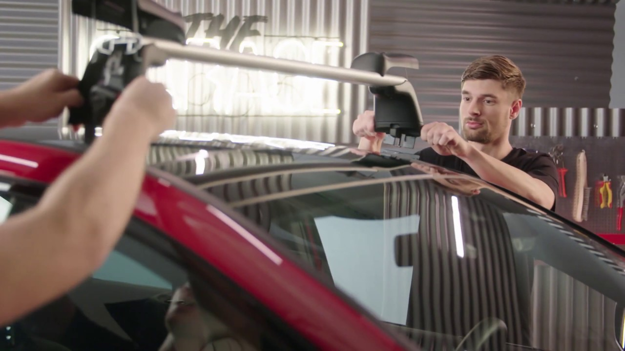 the garage episode 1 how to install mercedes benz carrier bars and roof boxes