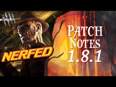 The Freddy Nerf 1.8.1 Patch Notes - Dead by Daylight - Killer #201 Nerfed Krueger