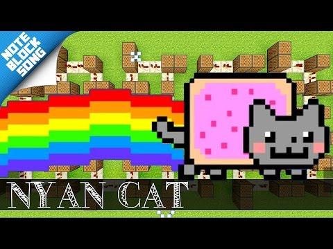 Nyan Cat - THEME - Minecraft |Note Block Song + Doorbell Tutorial|
