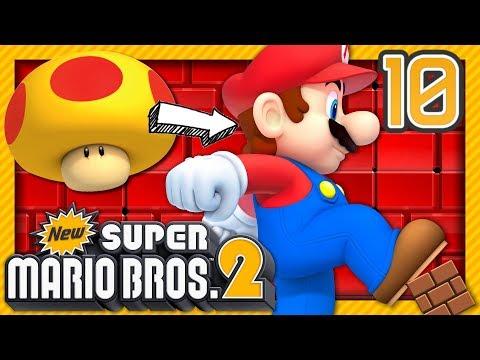 MARIO GÉANT !  NEW SUPER MARIO BROS 2 EPISODE 10 COOP NINTENDO 3DS FR