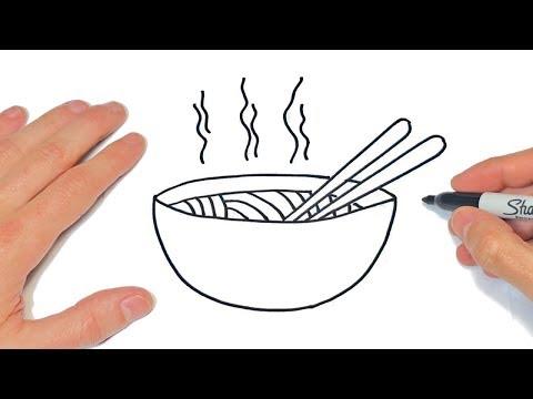 Cómo Dibujar Una Sopa Paso A Paso Dibujos Fáciles Youtube
