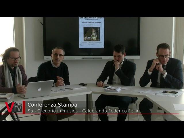 Conferenza stampa: San Gregorio in musica - Celebrando Federico Fellini