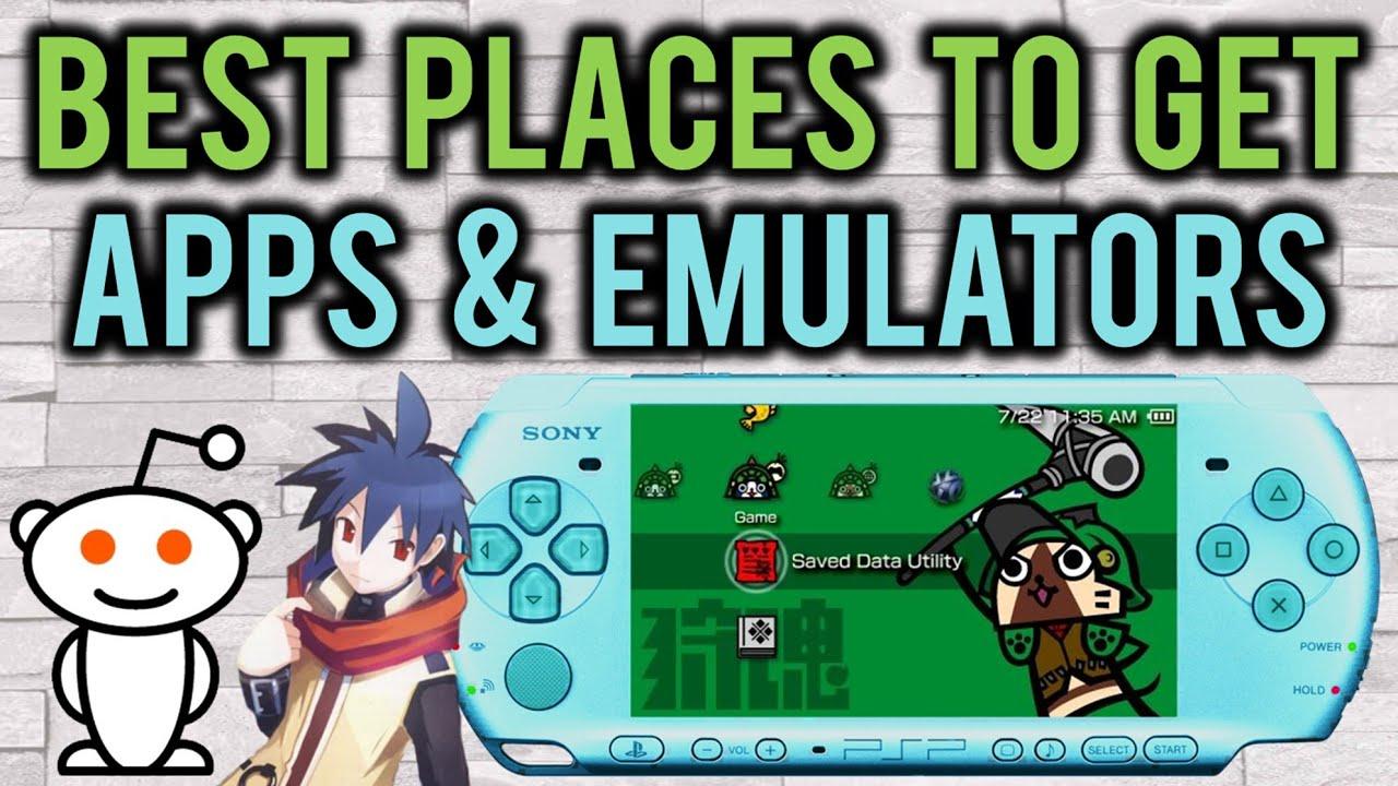 6 Best Websites To Find PSP Apps & Emulators!