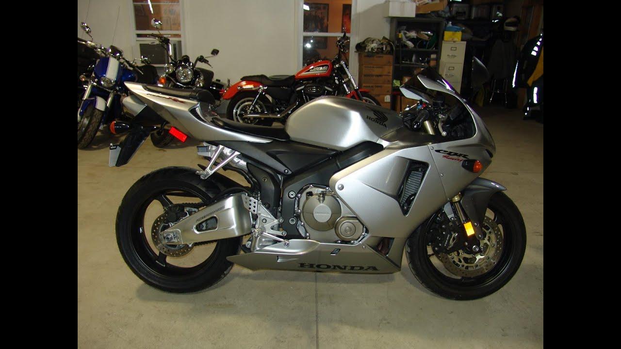 2006 Honda CBR600RR Silver - YouTube