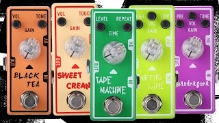 Tone City Pedal Review Part Deux! More mini pedal joy...
