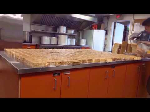 Casual Peanut Butter Spreading- 42 Loaves/ Approx. 273 Sandwiches