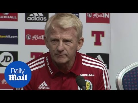 Scotland v Lithuania: Press conference with Gordon Strachen - Daily Mail