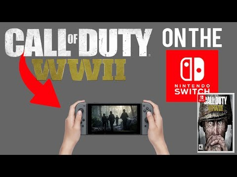 CALL OF DUTY: WORLD WAR 2 ON THE SWITCH?! (NINTENDO SWITCH)