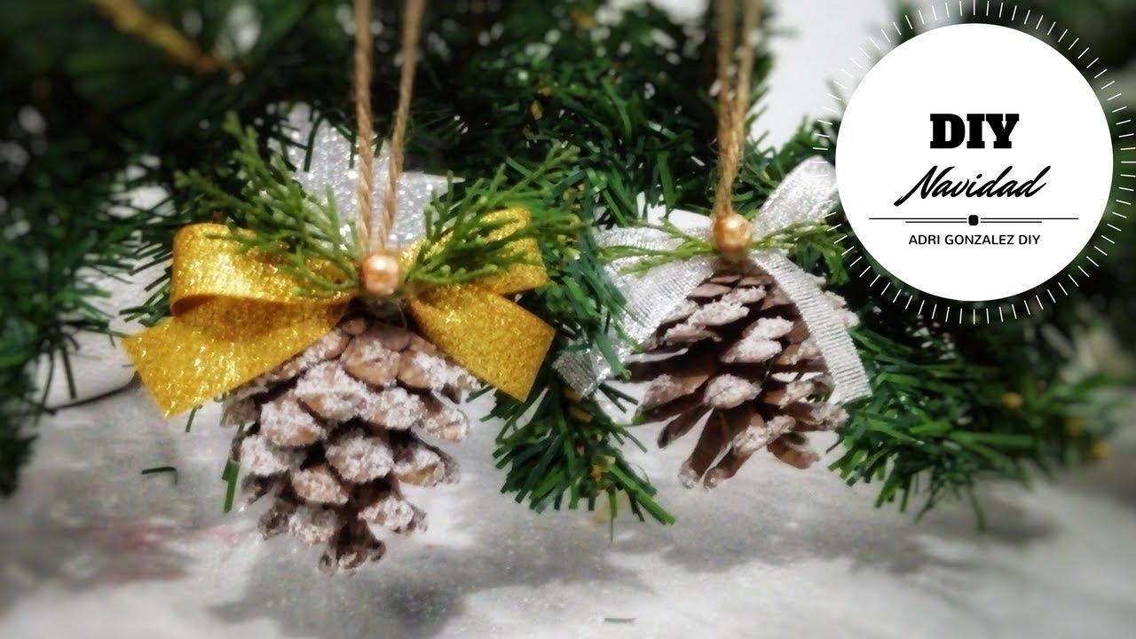 perfect decoracion de navidad con pias ideas para navidad adornos para arbol de navidad with decoracion navidad con pias - Adornos De Navidad Con Pias