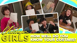 CHICKEN GIRLS | Season 8 | How Well Do You Know Your Costar?