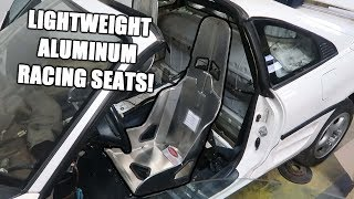 New Racing Seats for the Mr2!