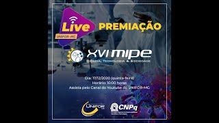 PREMIAÇÃO XVI MIPE | UNIFOR-MG