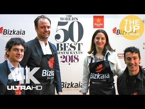The World's 50 Best Restaurants 2018 in Bilbao, Spain: Official announcement