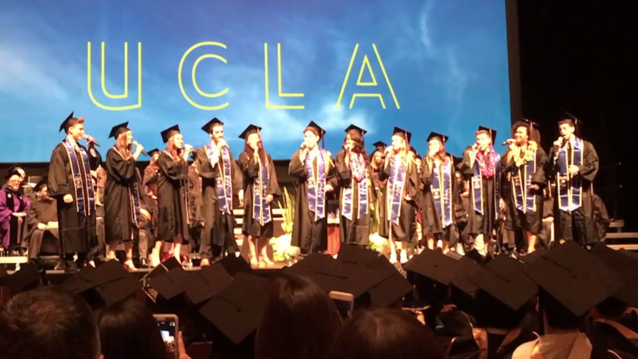 Don't Stop Believin' - UCLA Musical Theatre Class of 2017 - YouTube