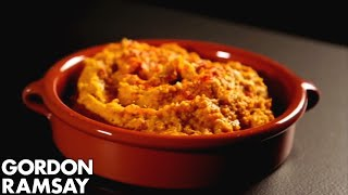 Moroccan Roasted Squash Hummus - Gordon Ramsay